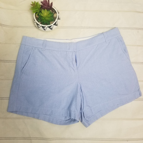 J. Crew Pants - J.Crew light blue chino short size 14 -C9